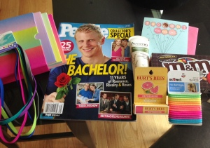What a fun package to receive today from an Instagram friend! Thanks Allison! I love it all!!