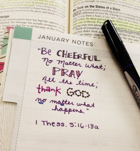 A favorite verse of mine! And a great anthem for January.