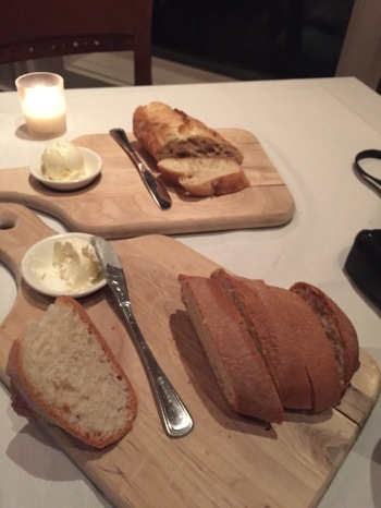 his and hers bread. (gluten free and regular -- the best treat everrrrrr)