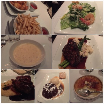 allllll the food we ate. bacon ketchup. GF clam chowder soup. plenty of sugary goodness.  All of it, delicious.