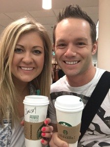 Airport Starbucks ... Check!