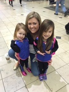 Two cute travel nieces ... check!