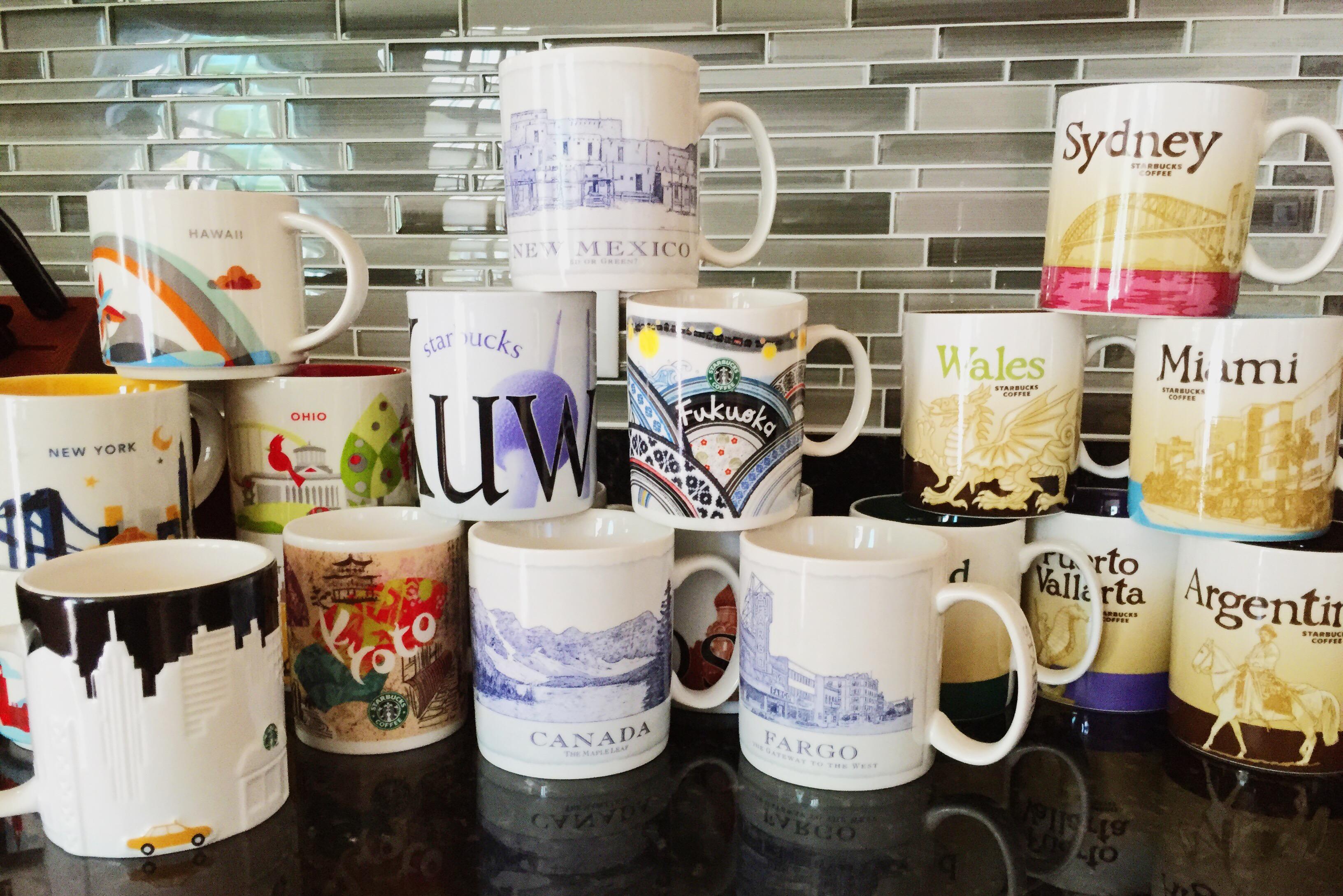 Starbucks City Mugs – Trials Bring Joy