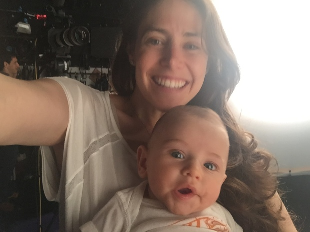 Baby on set (1)